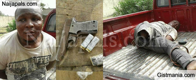 Wonders Shall Never! Police Arrest Deadly Heavily Armed One-Legged Thief (Photos)