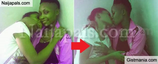 """My Woman Gives Me The Love I Deserve"" 17Yrs Old Lesbian Shares Love Up Photos With Bae"