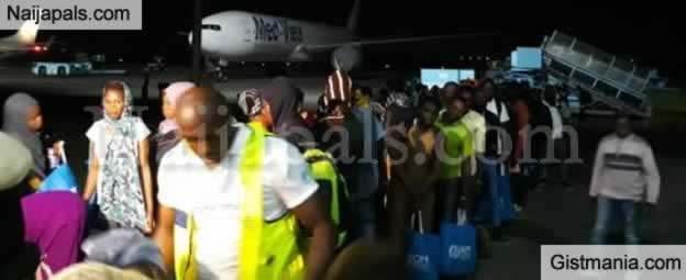 195 Nigerians Who Return From Libya, Recount Terrible Ordeal