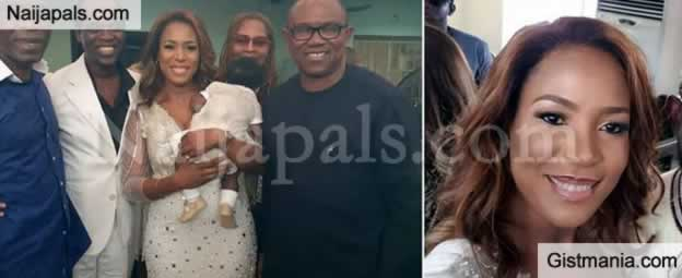 How Did Linda Ikeji Baptize Her Bastard (illegitimate) Child In a Catholic Church Against The Rules?