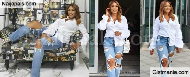 """I Am Almost 40"" - Linda Ikeji Flaunt Her 39th Birthday Photos"
