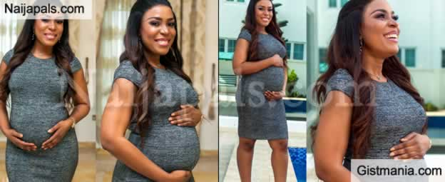Smart Girl! Linda Ikeji Reveals Her Pregnancy and Gender Of Baby In Style (Photos)