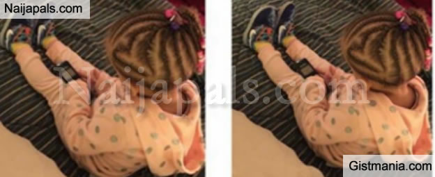 See The Reaction Of A White Mum After Her Daughter's Hair Was Braided Like This By Her Black Dad