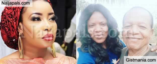 Your Father Denied You Before He Died - Lizzy Anjorin Continues Dragging Toyin Abraham