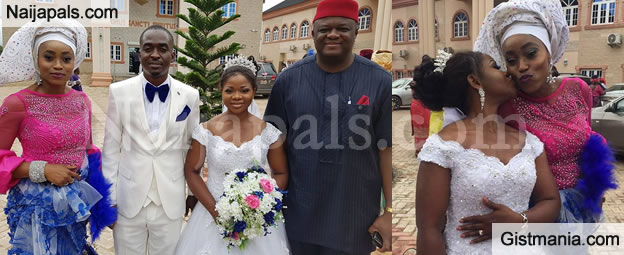 Madam Throws A Lavish Wedding Ceremony For Her Housemaid After Adopting Her For Being Humble - Photos