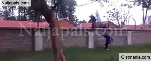 Pandemonium as Over 100 Mental Patients Escape from a Mental Hospital in Kenya (VIDEO)