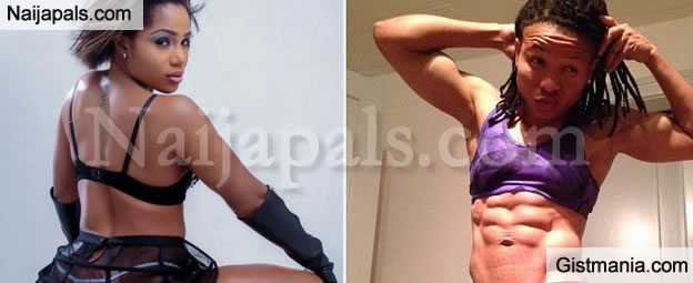 Guys Get In Here!!! Who Has Got The Best N00d Pose? Maheeda Or Chichi Igbo? (Photos)