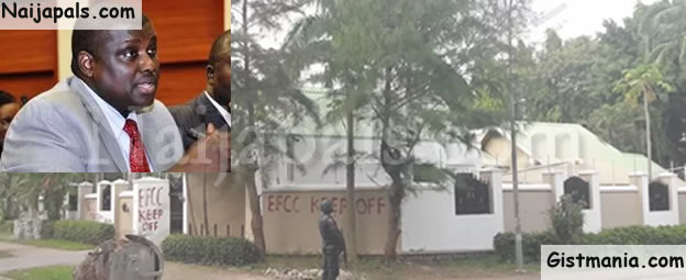 EFCC Storms Embattled Civil Servant, Abdulrasheed Maina's $2 Million Mansion (Photo)