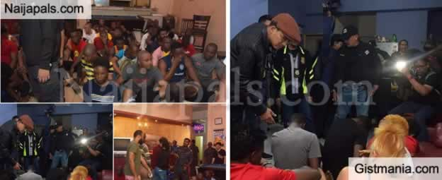 1 Dead 3 Injured As Malaysia Police Smoke Out Nigerians, Other Nationals Over Illegal Stay (Photos)