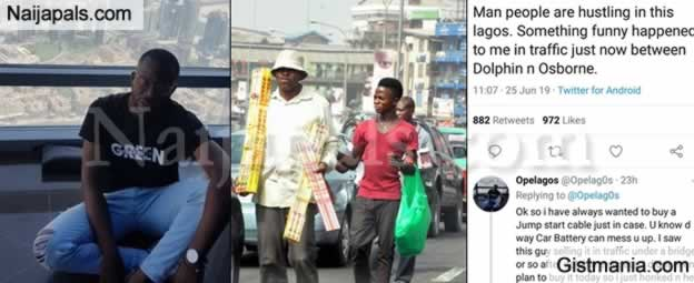 Man Narrates How A traffic Hawker Trusted Him And Let Him Drive Off After Promising To Pay Later