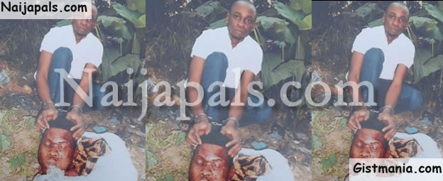 GRAPHIC PHOTO: Man Beheads His Girlfriend's Brother Over N700k