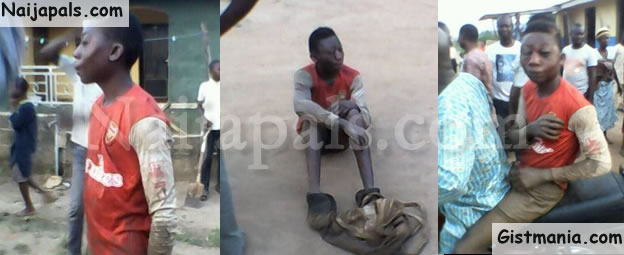 Electrician Beaten to Pulp After he was Caught Sleeping With Another Man's WIfe (PHOTOS)