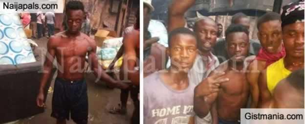 Meet Ekene Iwuoha, Young Man Celebrated As Onitsha Fire 'Hero'