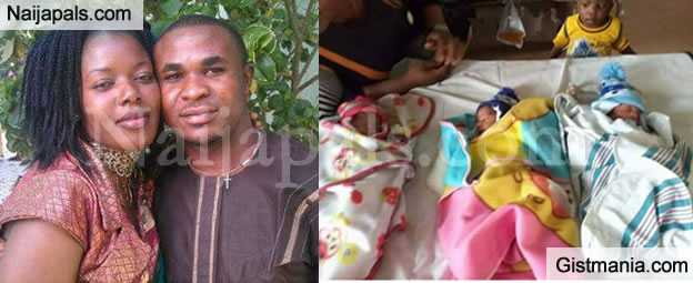 WONDERFUL! Excited Man Shares Photos To Celebrate The Birth Of His Triplets On Facebook