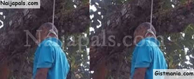 PHOTO: 32-Year Old Man Commits Suicide In Bauchi