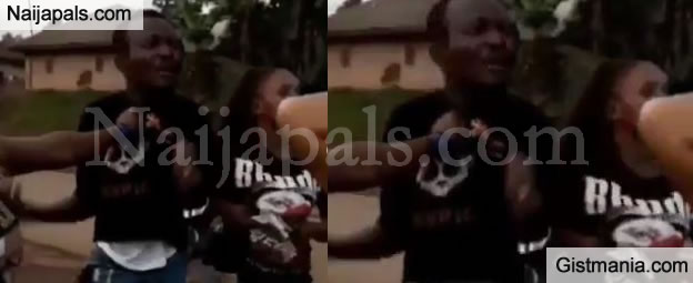 Big Drama As Three Friends Confront and Beat Up a Man Secretly Dating All of Them (Video)