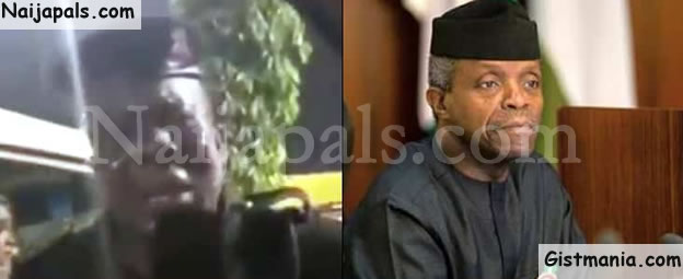 Yahoo Boy Pretends To Be VP, Yemi Osinbajo Dupe Nigerian Policeman And His Wife (Video)