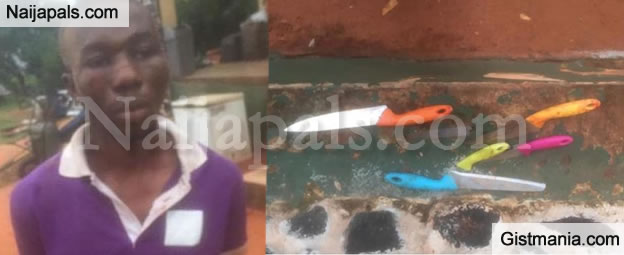 28 Year Old Unizik Graduate Stabs Brother to Death With Different Knives