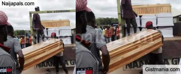 Benue Residents Live In Fear As Unknown Men Storm Makurdi With 20 Coffins