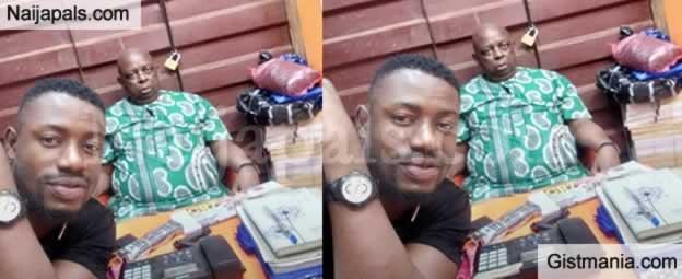 A Nigerian Man, Gerald Ifeanyi Ogbuagu Loses Father And Shop To Ochanja Market, Onitsha Fire