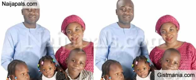 A Nigerian Man, Tervershima Jebe Loses His Wife And Three Children In Fatal Accident In Benue