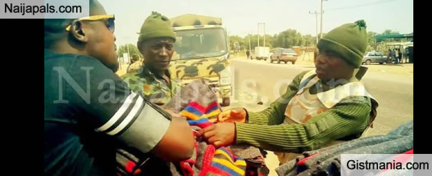 Man Narrates His Encounter With Soldiers During Distribution Of Blankets To IDPs In Borno