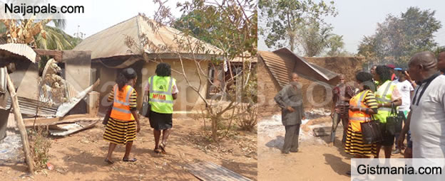 Violent Clash Between Two Communities Leave Many Homeless In Ebonyi State. (PHOTOS)
