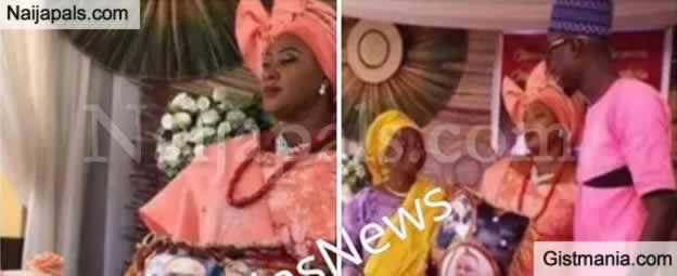 Woman Marries Absent Dubai Husband With Pillow (photos)