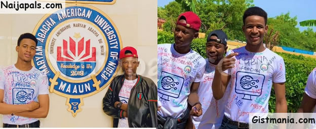 Final Year Students Of Maryam Abacha American University In Niger Republic Sign Out In Style (Photos)