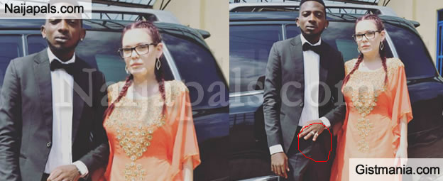 Singer May D Finally Ties The Knot With His White Beauty, Flaunts Wedding Ring - Photo
