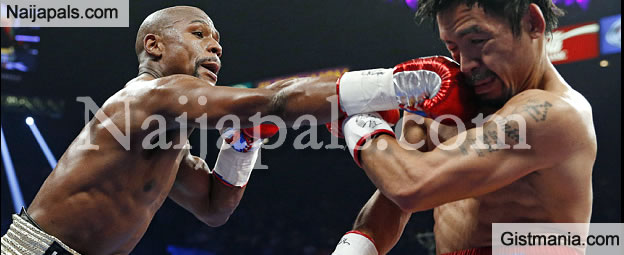 Photos: Floyd Mayweather Defeats Manny Pacquiao In Richest Fight Ever