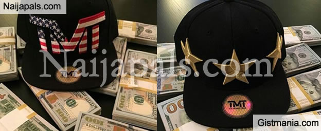 Money Speaking!!! Floyd Mayweather Flaunts Thousand of Dollars to Advertise His Branded Caps