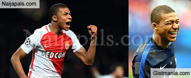World's Hottest Footballer, Kylian Mbappe Is Actually From Nigeria, His Middle Name Is Adesanmi
