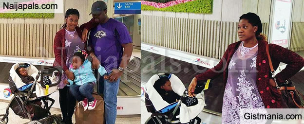 Hot Mama: Mercy Johnson And Family Were Seen In Paris - Photos