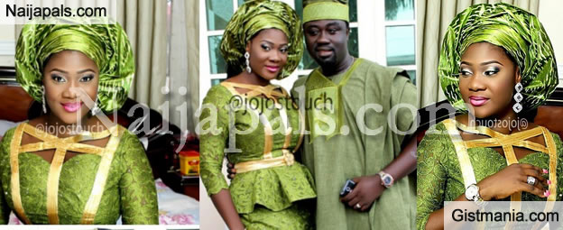This Is How We Settle Our Disputes - Mercy Johnson's Husband, Prince Okojie Reveals