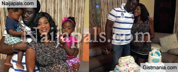 Mercy Johnson Celebrates Her Birthday With Hubby And Kids [Photos]