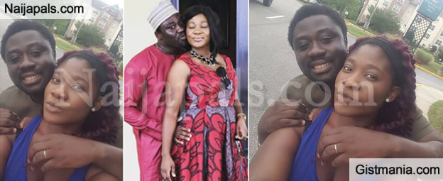"""""""My Wife And Girlfriend"""" – Mercy Johnson's Hubby, Prince Okojie Shares Loved Up Photos On IG"""