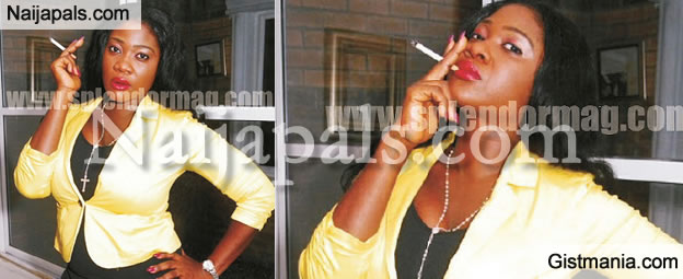 Good Smoker? Photos Of Mercy Johnson Smoking Cigarettes Emerges On the Internet