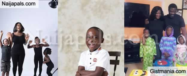 Actress, Mercy Johnson And Husband Celebrate Their Son On His 5th Birthday