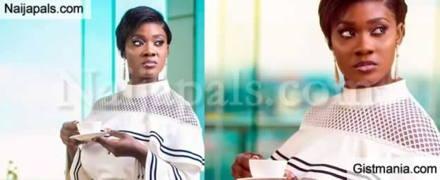 Mercy Johnson Sips Tea and Ignore Claims By Angela Okorie That She is a Witch