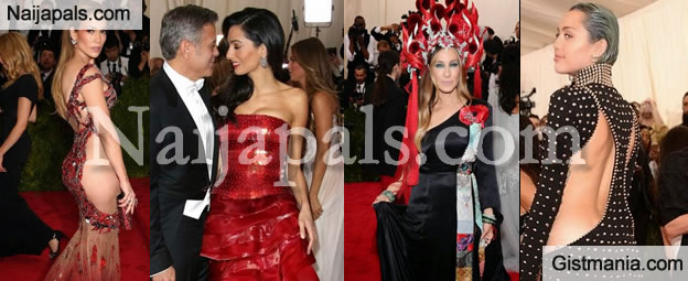 Check Out The Most Amazing Celebrity Looks From The 2015 Met Gala [Photos]