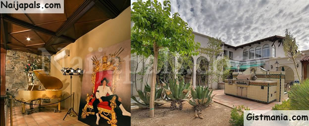 Check Out Late Pop Star, Michael Jackson's Las Vegas Mansion To Be Sold For $9.5M (Photos)