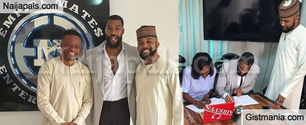 #BBNaija's Loyal Husband of The Year, Mike Gets A Deal With Banky W's EME