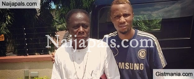 MEET Mikel Obi's Father And Younger Brother, Edgar [PHOTO]