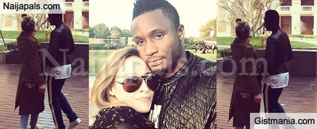 """I'm So Lucky To Share My Life With You"" - Mikel Obi's Partner, Olga Recollects How She Met Him"