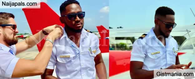 PHOTOS: Miracle From #BBNaija Qualifies As a Pilot In The USA