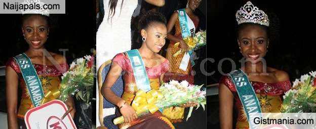 Miss Anambra 2015, Miss Chidinma Okeke Hands Over Her Crown After Viral S£x Tape</b> - Video