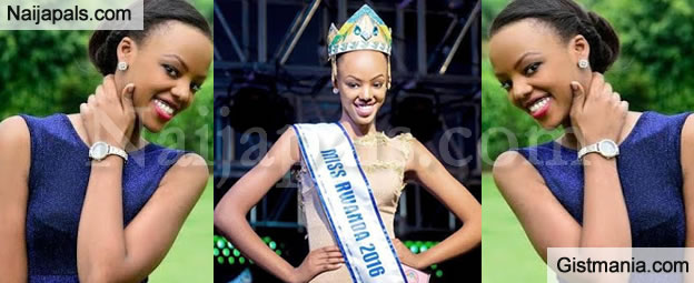 WOW! 19yrs Old Miss Rwanda To Rep. Country In Miss World Beauty Pageant For The First In History