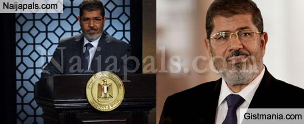 Egypt's Former President, Mohamed Morsi Slumps & Dies During Court Appearance