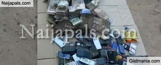 Lots of Naira Notes, Arms and Ammunition Found After Successful Attack on a Boko Haram Camp (PHOTOS)